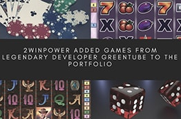 2WinPower added games from legendary developer Greentube to the portfolio