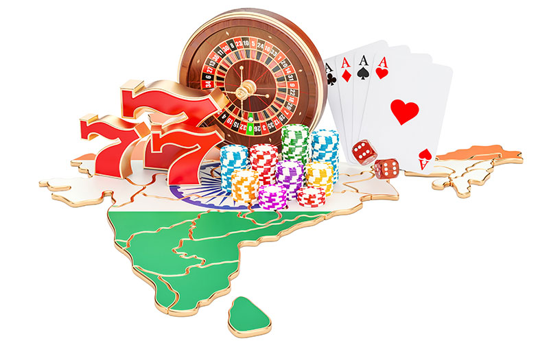 Land-based betting in India