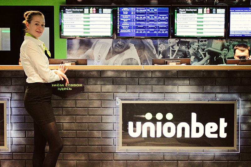 Unionbet franchise for bookmaker office