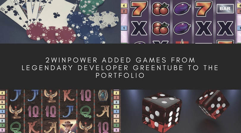 2WinPower added video slots from Greentube