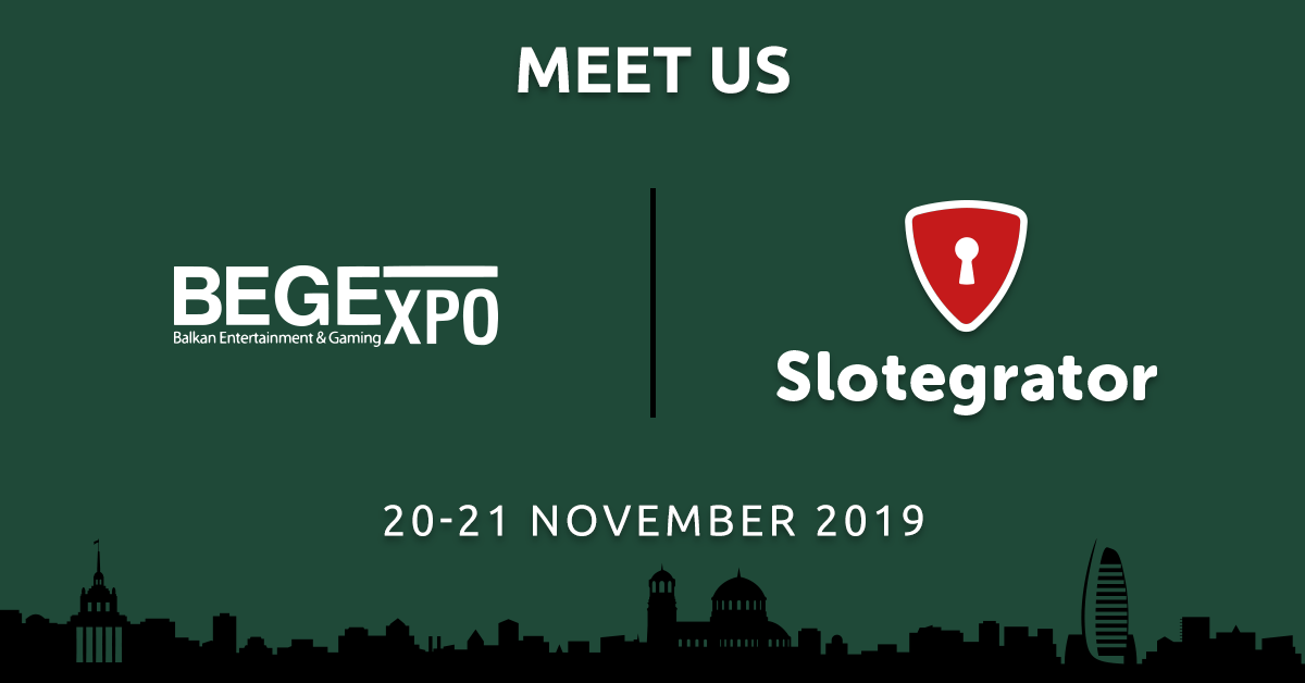 Slotegrator at Balkan Entertainment and Gaming Exhibition (BEGE) 2019