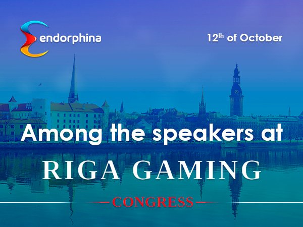 Endorphina на конгрессе Riga Gaming Summit