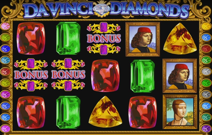 IGT - Da Vinci Diamonds videoslot