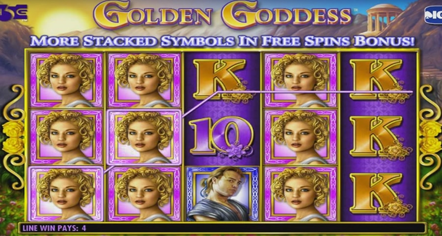 IGT - Golden Goddess slot machine