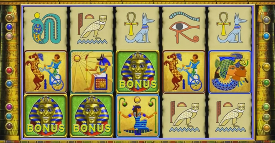 IGT - Pharaoh's Fortune online game