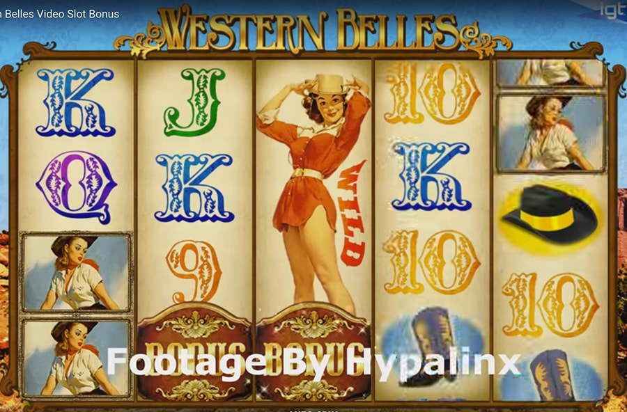 IGT - Western Belles slot machine