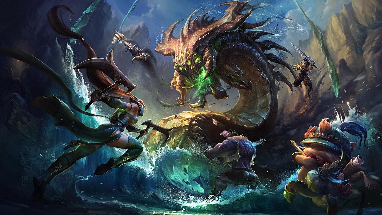 League Of Legends fantasy sports games