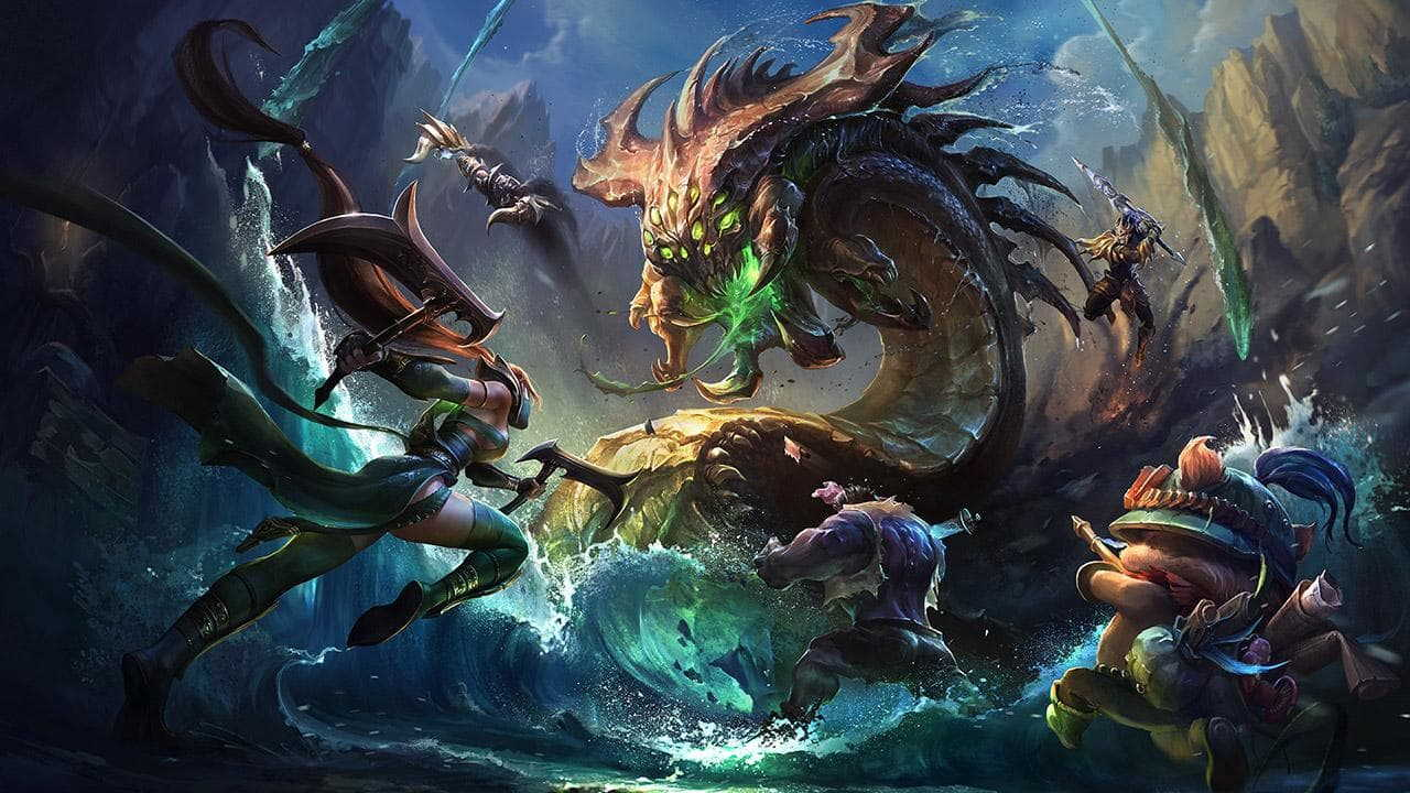 League Of Legends fantasy sports game
